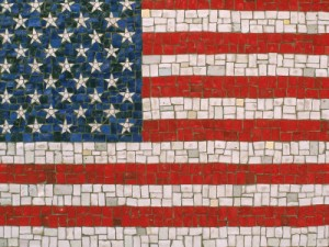 rudi-von-briel-american-flag-in-mosaic