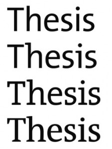 Typeface-thesis