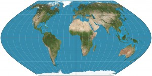 """Ecker VI projection SW"" by Strebe - Own work. Licensed under CC BY-SA 3.0 via Commons - https://commons.wikimedia.org/wiki/File:Ecker_VI_projection_SW.jpg#/media/File:Ecker_VI_projection_SW.jpg"
