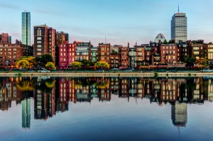 Boston_Back_Bay_reflection