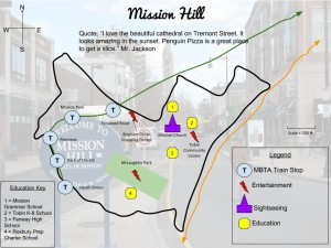 Mission Hill Model Map